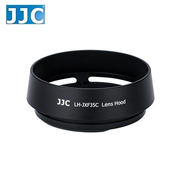 又敗家(黑)JJC富士副廠Fujifilm遮光罩LH-XF35II遮光罩XF 23mm 35mm F/2.0 R WR遮陽罩F2.0 1:2太陽罩遮罩