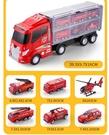 兒童工程消防玩具車模型仿真合金小汽車男孩小孩男童套裝各類車大 小山好物