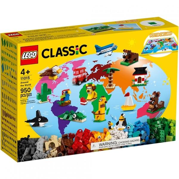 樂高積木 LEGO《 LT11015 》Classic 經典基本顆粒系列 - 環遊世界 / JOYBUS玩具百貨