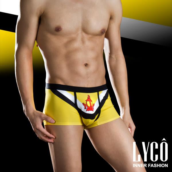 LYCO男內褲‧汶萊國旗四角褲