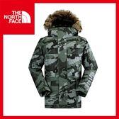 【The North Face 男 HV 550 fill 羽絨外套《褐灰綠迷彩》】CA5M/防水/透氣/保暖/戶外/賞雪