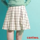 cantwo俏麗復古格紋短裙(共二色)~網路獨家精選590