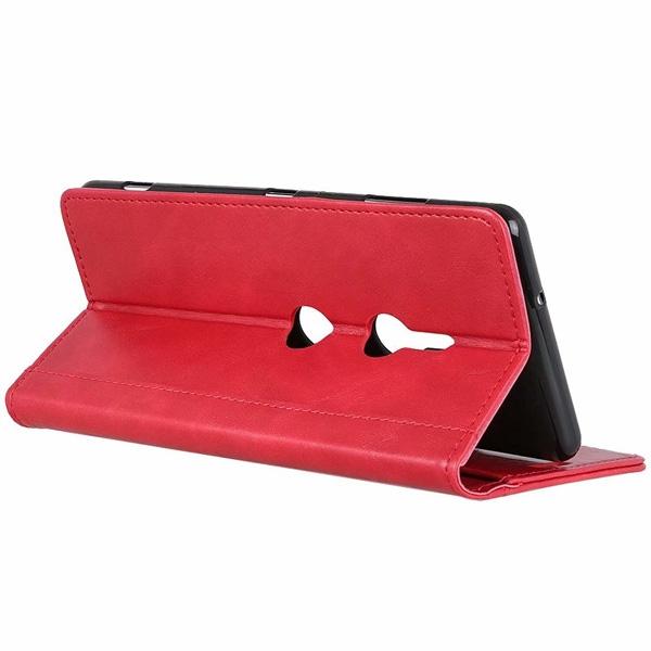 SONY XZ3 XZ2 四釘皮套 手機皮套 掀蓋殼 插卡 支架 皮套 保護套