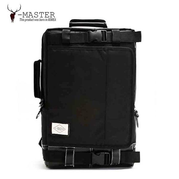 Y-MASTER|城市探險 Y-21BK (騎士黑) - 15.6吋筆電相機後背包