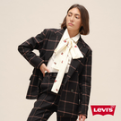 Levis 女款 格紋羊毛西裝外套 / 復古英倫風