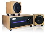 喇叭 重低音 立體聲 全木質 音箱