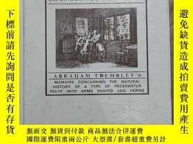 二手書博民逛書店HYSRA罕見AND THE BIRTH OF EXPERIMENTAL BIOLOGY-1744 外文看圖Y