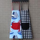 情侶圍裙韓版時尚可愛成人男女純棉做飯創意廚房餐飲店純棉布藝 晴天時尚館