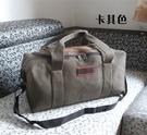 超大容量手提旅行包帆布男女行李包袋裝被子...