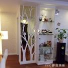 鏡貼自粘墻紙3D立體鏡面亞克力墻貼沙發客廳餐廳背景墻玄關裝飾隔斷 麥吉良品YYS