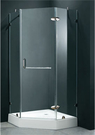 【麗室衛浴】B-062-1 無框夾具五角...