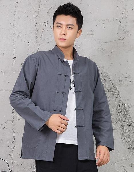 中國風唐裝男上衣