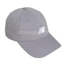 New Balance 帽子 Logo Baseball Cap 灰 白 男女款 老帽 棒球帽 運動休閒 【ACS】 LAH91014SEL