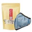 PYX 品業興 S版輕巧型口罩 -晴空藍+茶圖誌茶包組