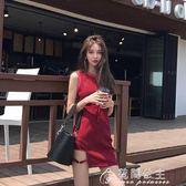 夏季性感夜店女裝韓版洋裝女夏顯瘦chic港味背心裙子氣質短裙潮花間公主