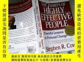 二手書博民逛書店the罕見7 Habits of Highly Effective PeopleY253683