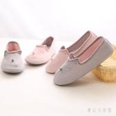 十月月子鞋夏季薄款軟底鞋夏天產婦拖鞋包跟孕產婦鞋月子拖鞋 IP162『寶貝兒童裝』