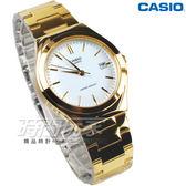 CASIO卡西歐 MTP-1170N-7A 都會城市 不銹鋼 防水手錶 大圓錶 男錶 金x白 MTP-1170N-7ARDF