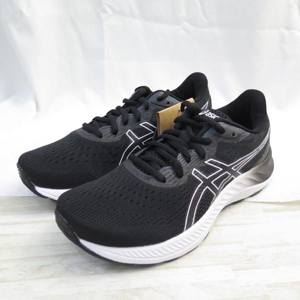 ASICS GEL-EXCITE 8 女款 WIDE D楦 慢跑鞋 1012A915002 黑白【iSport愛運動】