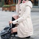 秋冬嚴選新款 質感休閒 韓版大衣 百搭長版外套 C0034 ◆韓妮小熊