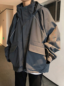 男生外套 棉衣男士冬季韓版寬鬆百搭加厚工裝棉服潮牌港風外套 CY潮流