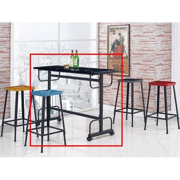 吧檯桌椅 PK-889-1 工業風吧台桌【大眾家居舘】