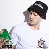 STAYREAL x POPEYE 酷黑漁夫帽