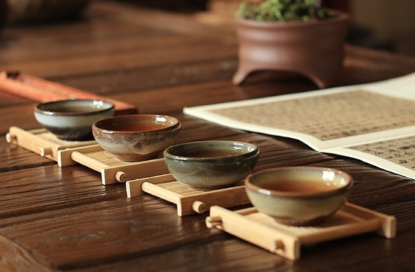【協貿國際】日式粗陶茶具茶杯手工製作功夫茶(四樣式个一,共四入)