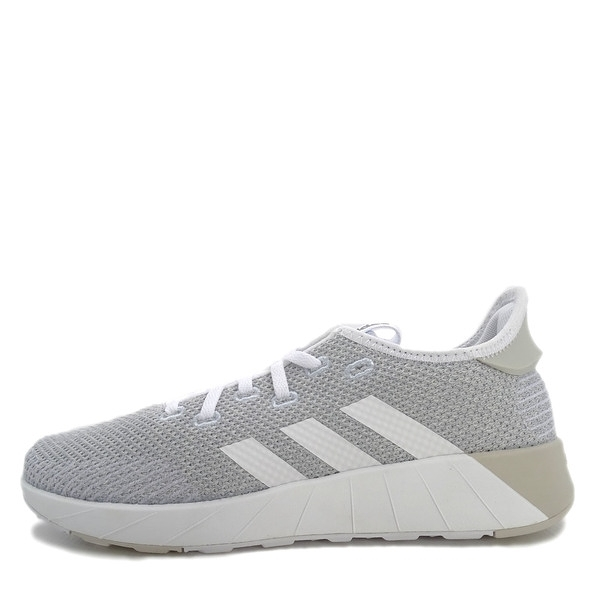 Adidas NEO Questar X BYD [B96489] 女鞋 運動 休閒 針織 緩衝 舒適 愛迪達 灰 白