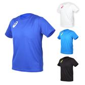 ASICS 男女限量運動排汗LOGO短袖T恤(免運 慢跑 路跑 亞瑟士≡體院≡ K11613