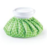 MUVA冰熱雙效水袋(6吋)-綠格/個【美十樂藥妝保健】