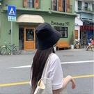 網紅漁夫帽女韓版百搭水桶盆帽潮夏季太陽帽uv遮陽防曬帽子女遮臉一米陽光