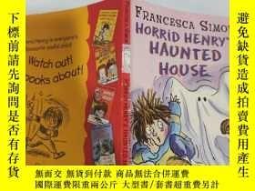 二手書博民逛書店horrid罕見Henry s haunted house 可怕的亨利鬼屋Y200392