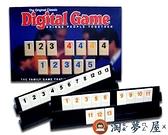 桌游以色列麻將數字麻將牌旅行版拉標準版密拉【淘夢屋】