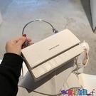 小方包 高級感手提小包包女2021新款潮時尚小眾鍊條側背斜背包網紅小方包寶貝計畫 上新
