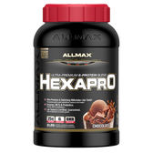 【加拿大ALLMAX】奧美仕HEXAPRO六重乳清蛋白巧克力口味飲品1瓶 (3磅)