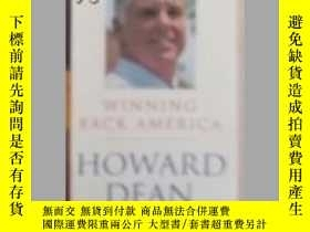 二手書博民逛書店Winning罕見Back America by Howard