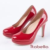 ★2018春夏新品★itabella.經典素面漆皮高跟鞋(8211-69紅)