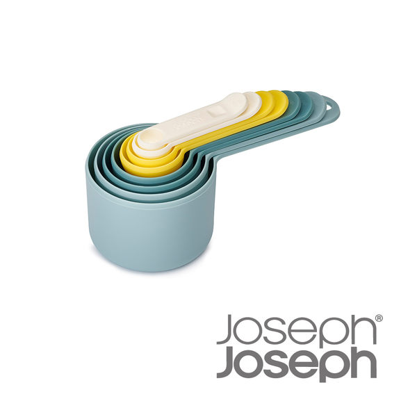 《Joseph Joseph英國創意餐廚》新自然色量匙八件組-40077