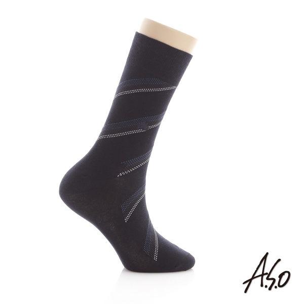 A.S.O 純棉抑菌經典紳士襪禮盒
