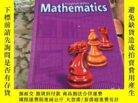 二手書博民逛書店Houghton罕見Mifflin Mathematics(英文