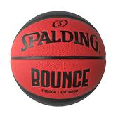 Spalding Bounce [SPB91002] 籃球 7號 室內外 PU 控球佳 耐磨 附球針 球網 紅黑