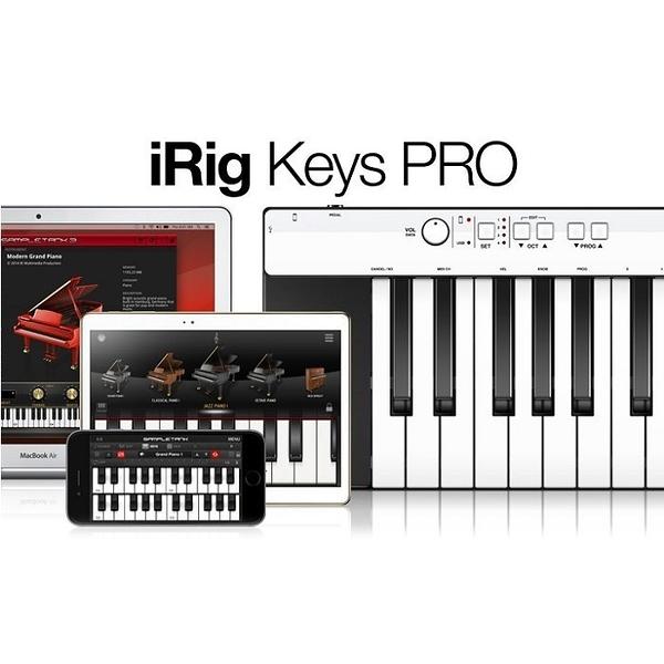 ☆唐尼樂器︵☆免運 IK iRig Keys Pro 37鍵 iOS Android PC MAC MID 音樂主控鍵盤