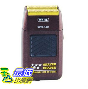 [美國直購] Wahl Professional 8061-100 充電式 刮鬍刀 5-star Series Rechargeable Shaver Shaper