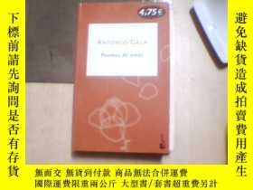 二手書博民逛書店ANTONIO罕見GALA Poemas de amor【西語原