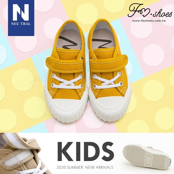 休閒鞋.奶茶色防潑水餅乾鞋(黃)-KID-FM時尚美鞋-NeuTral.Refresh
