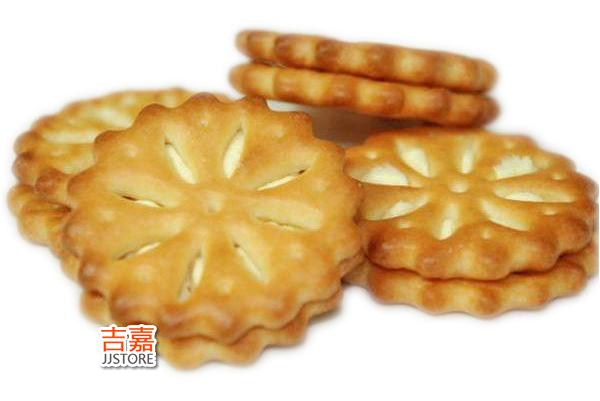 【吉嘉食品】大福 大檸檬夾心派 奶蛋素 2條260公克32塊餅 {2Z}[#2]