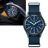 TIMEX 天美時(TXTW2R37300) MK1 軍錶 手錶/藍/40mm