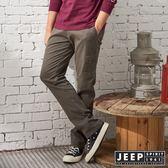 【JEEP】經典復古休閒口袋長褲 (橄欖綠)