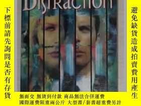 二手書博民逛書店英文原版罕見Distraction by Bruce Sterl